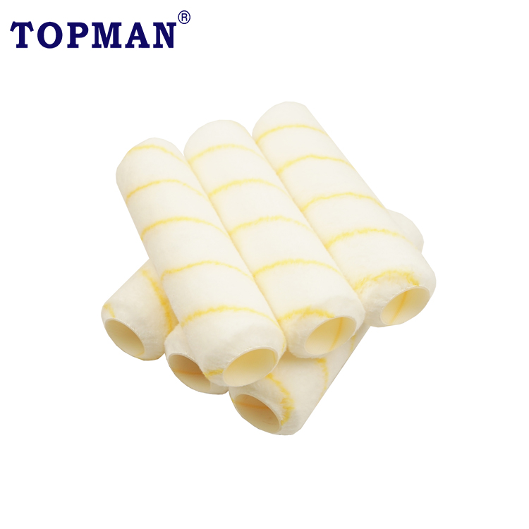 9 inch Paint Roller Cover for Cage Frame Good quality and cheap price synthetic roller sleeve roller